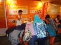 Ramai-ramai bermain Animal Puzzle di SUN Foundation Booth