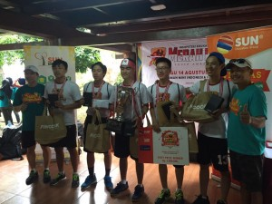 Juara 1, tim Homeless Kids dari IPEKA Pluit
